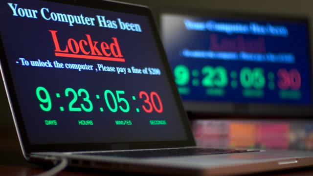 vidéos et rushes de ordinateur verrouillé par ransomware - casser les codes