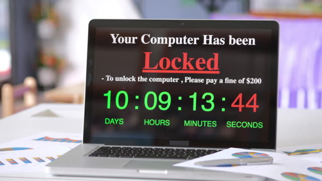 Computer Locked by ransomware