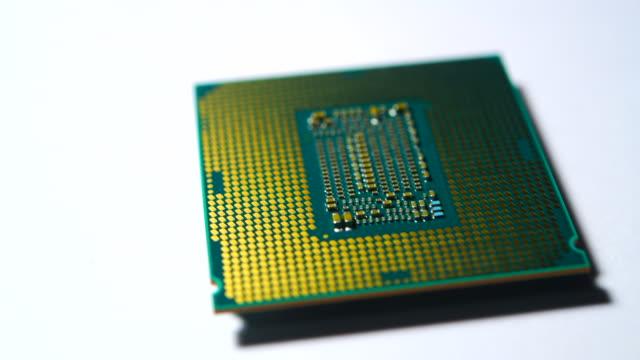 4 k: cpu コンピューター マザーボード - 半導体点の映像素材/bロール