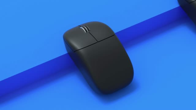 computer mouse 3d rendering motion abstract - still life stock videos & royalty-free footage