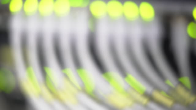 Computer Network Switch Defocused (4K/UHD)