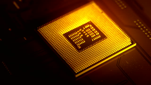 cpu computer processor - computer chip stock videos & royalty-free footage