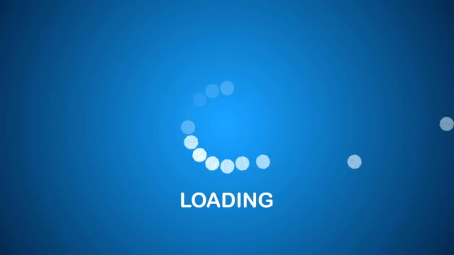 Computer Progress Loading Bar