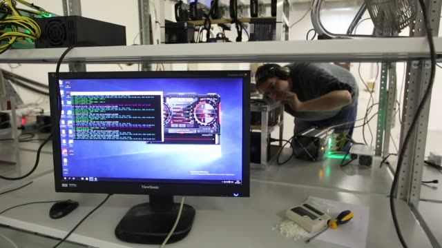 a computer screen displays the user interface for the msi 'afterburner' graphics card software manufactured by microstar international co used to... - afterburner stock videos and b-roll footage