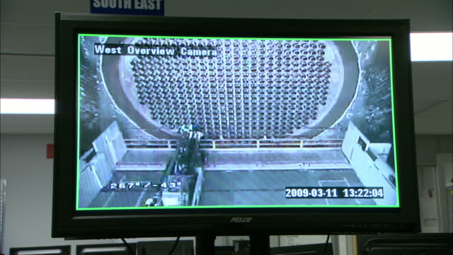 a computer screen shows a camera moving around a tube channel panel. - nuclear reactor stock videos and b-roll footage