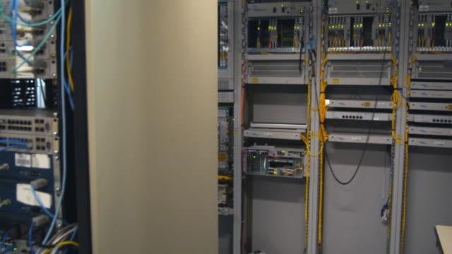 WS PAN Computer server room, Sydney, Australia