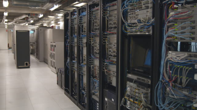 ws computer server room, sydney, australia - network server stock videos & royalty-free footage