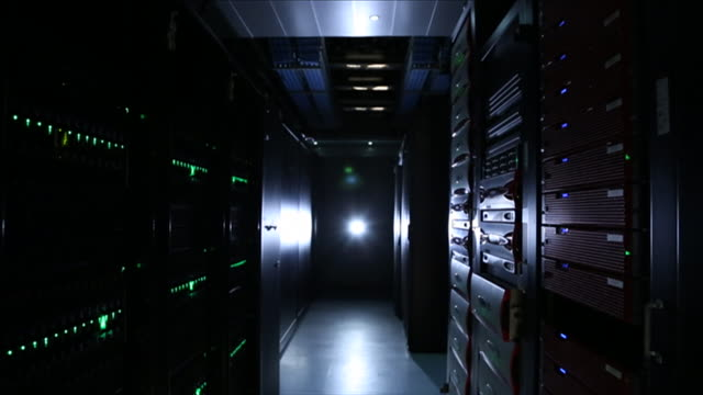 computer server room - network server stock videos & royalty-free footage