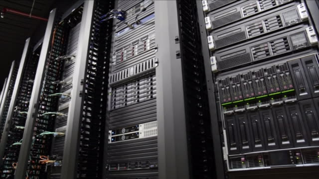 computer server room - rack stock videos & royalty-free footage