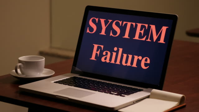 computer system failure - broken pencil stock videos & royalty-free footage
