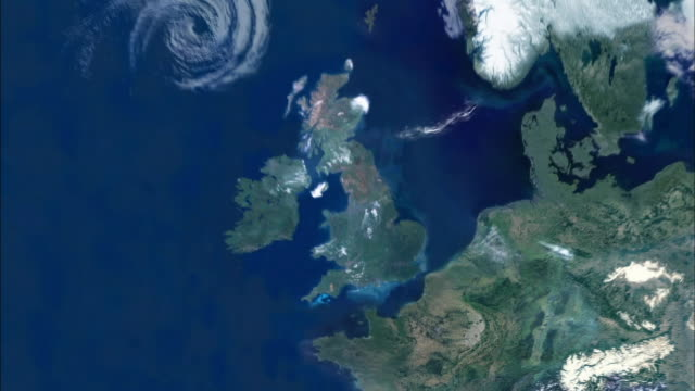 a computer-generated graphic illustrates the pattern of flooding  from the north sea to the thames river in england. - map stock videos & royalty-free footage