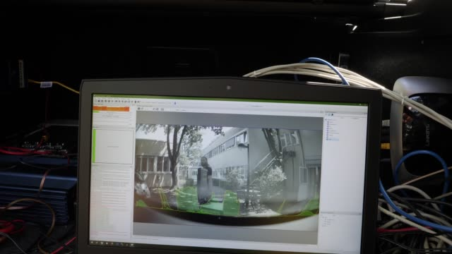 Computers and navigation instruments are seen inside a driverless car at the Dahlem Center for Machine Learning and Robotics at the Freie Universität...