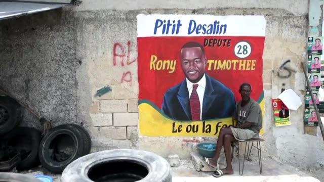 con casi cuatro anos de retraso haiti celebra este domingo unas elecciones legislativas en medio de temores a episodios de violencia y a una muy baja... - congreso stock videos and b-roll footage