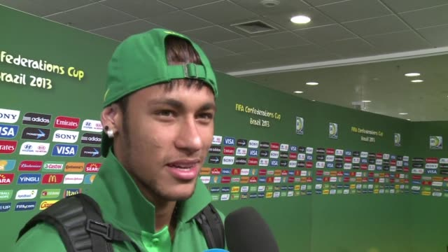 Con sus dos goles frente a Mexico este miercoles Neymar fue el artifice del paso de Brasil a semifinales en esta Copa Confederaciones VOICED Neymar...