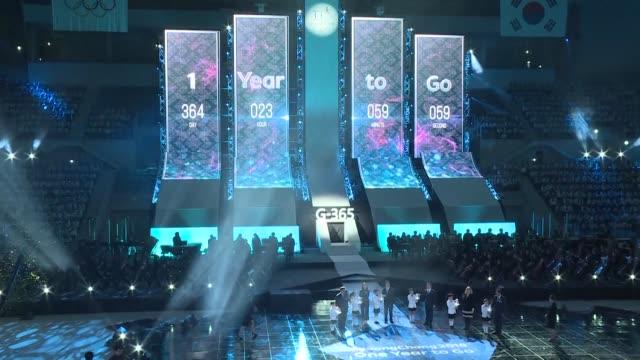 Con una ceremonia PyeongChang inicio el jueves el conteo regresivo de un ano para la inauguracion de los Juegos de Invierno 2018 en Corea del Sur en...