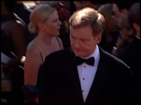 conan o'brien at the 1999 emmy awards at the shrine auditorium in los angeles california on september 12 1999 - conan o'brien stock videos and b-roll footage