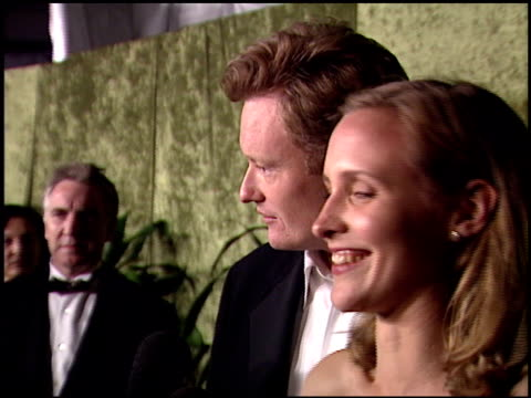 conan o'brien at the 2000 hbo emmy party at spago in beverly hills california on september 10 2000 - conan o'brien stock videos and b-roll footage