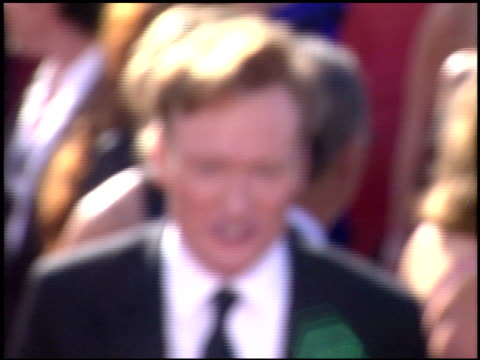 conan o'brien at the 2003 emmy awards at the shrine auditorium in los angeles california on september 21 2003 - conan o'brien stock videos and b-roll footage