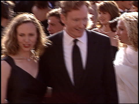 conan o'brien at the 2004 emmy awards arrival at the shrine auditorium in los angeles california on september 19 2004 - conan o'brien stock videos and b-roll footage