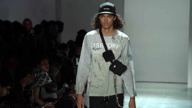 concept korea runway september 2019 nyfw at gallery i at spring studios on september 06 2019 in new york city - new york fashion week stock videos & royalty-free footage