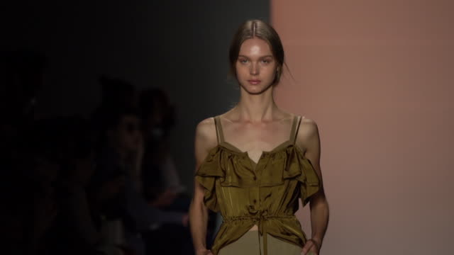 concept korea - runway - september 2019 nyfw at gallery i at spring studios on september 06, 2019 in new york city. - new york fashion week stock videos & royalty-free footage