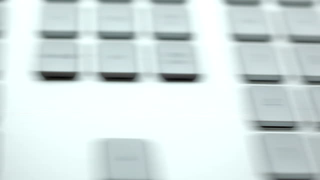 stockvideo's en b-roll-footage met concept shot of playing with keyboard - westers schrift