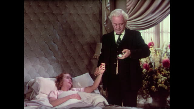 1937 Concerned man (Fredric March) visits bedridden woman (Carole Lombard)