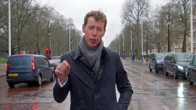 concerns london marathon may not go ahead due to coronavirus england london ext reporter to camera - london marathon stock videos & royalty-free footage