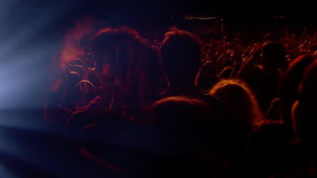 konzert menschenmenge - mob stock-videos und b-roll-filmmaterial