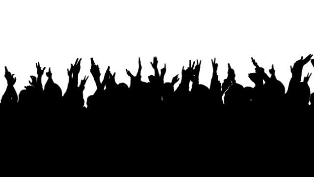 vídeos de stock, filmes e b-roll de multidão de concerto - filme evento de entretenimento