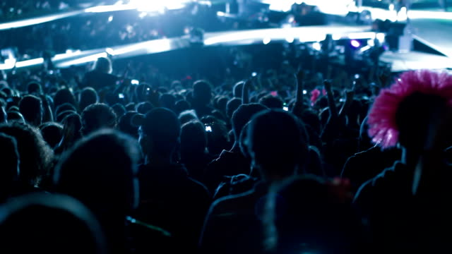 concert crowd - heavy metal stock videos & royalty-free footage