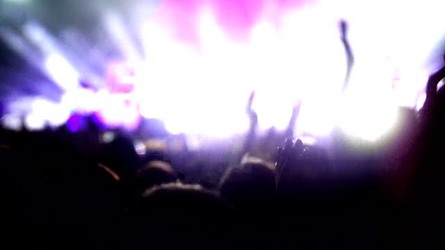 Concert crowd.