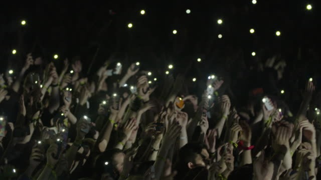 Concert Gig Crowd with cell phones