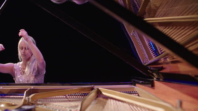 concert hall pianist - channel islands england stock videos & royalty-free footage