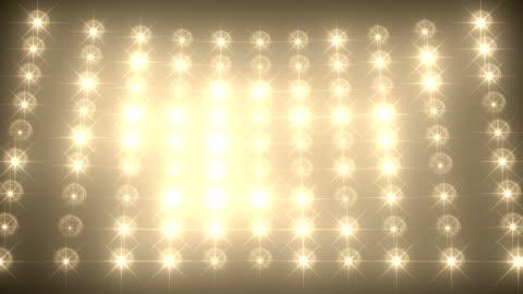 vidéos et rushes de fond de mur léger de concert - représentation artistique