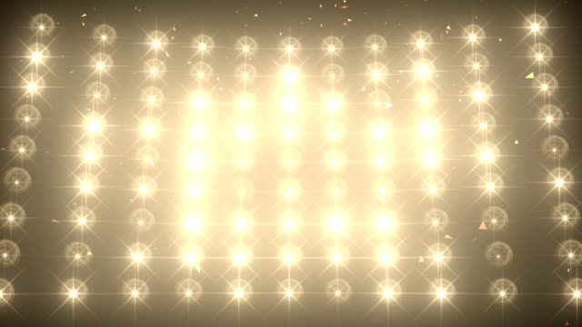 concert light wall with falling confetti background - celebration event stock videos & royalty-free footage