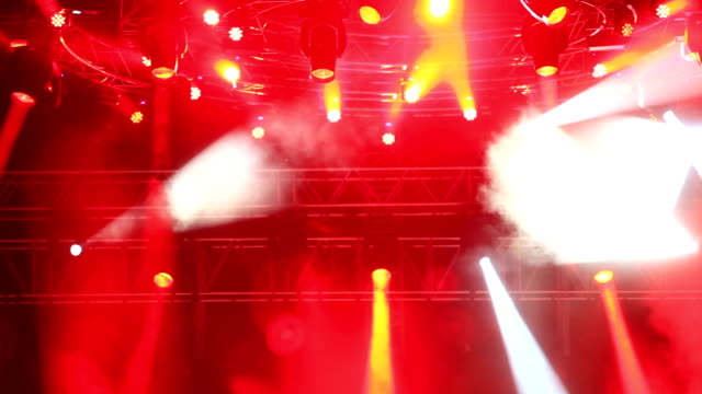 concert lights - circus stock videos & royalty-free footage