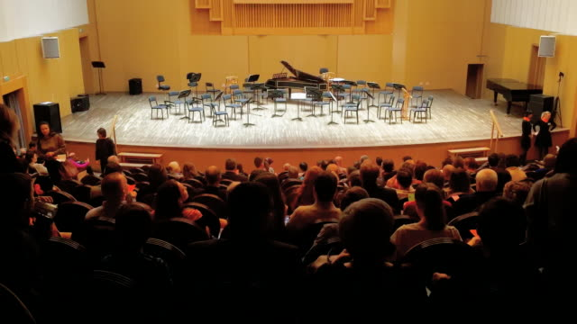 Concert of classical music, TimeLapse