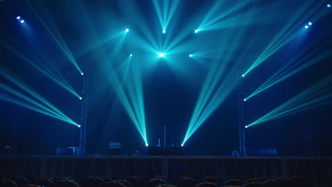 concert stage light effect. - concert stock videos & royalty-free footage