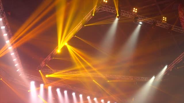 Éclairage de scène de concert