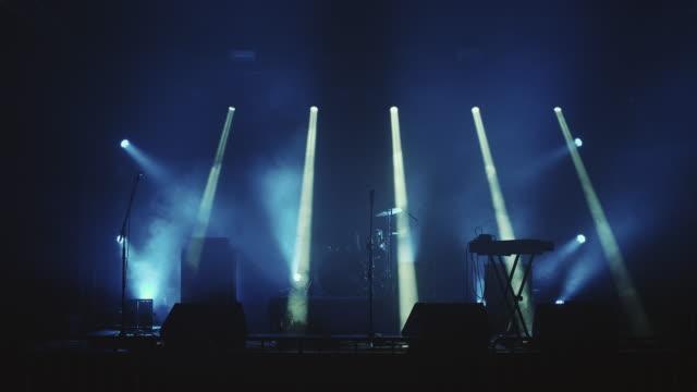 コンサートステージ - ステージ点の映像素材/bロール