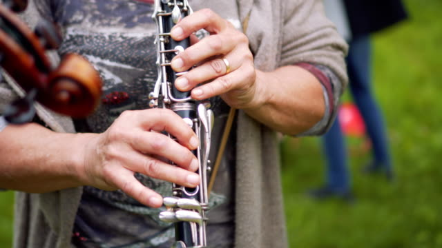 concert with clarinet - clarinet stock videos & royalty-free footage