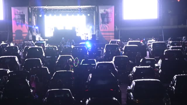 CA: Gareth Emery Drive-In Concert At City National Grove Of Anaheim