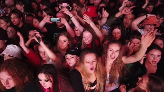 concert-goers enjoy a non-socially distanced outdoor live music event at sefton park on may 2, 2021 in liverpool, england. the event is part of the... - enjoyment stock videos & royalty-free footage