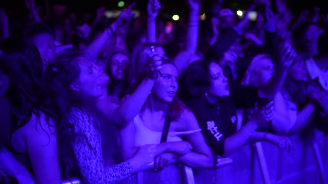 concert-goers enjoy a non-socially distanced outdoor live music event at sefton park on may 2, 2021 in liverpool, england. the event is part of the... - crowd stock videos & royalty-free footage