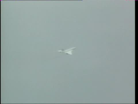 Investigation launched LIB Concorde in flight