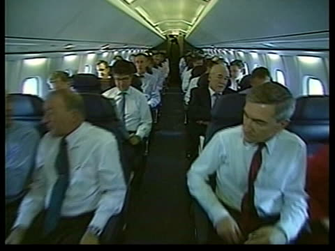 concorde to be taken out of service for good lib track along aisle of plane stewardess serving drinks to passengers ms glasses of champagne on tray... - serving tray stock videos and b-roll footage