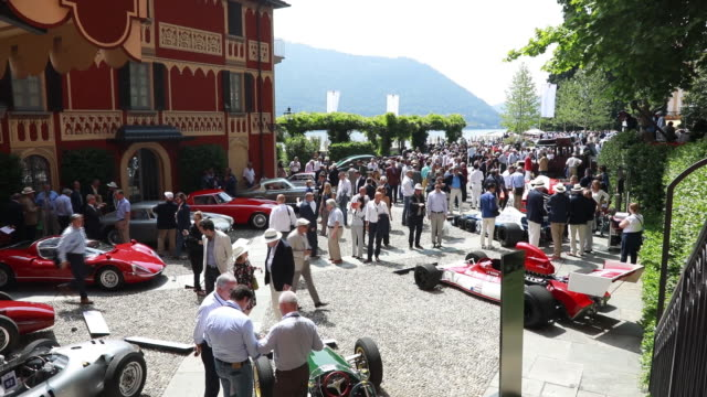 concorso d'eleganza villa d'este como italy on saturday may 26 2018 - finanzwirtschaft und industrie stock-videos und b-roll-filmmaterial