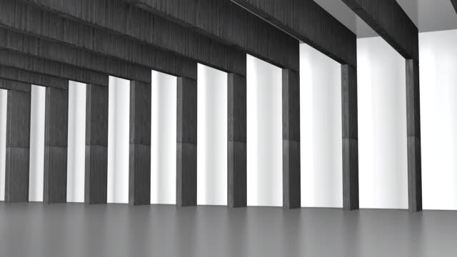 Beton Hall mit Balken