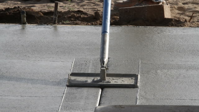 concrete lines being cut into pour - block shape stock videos & royalty-free footage